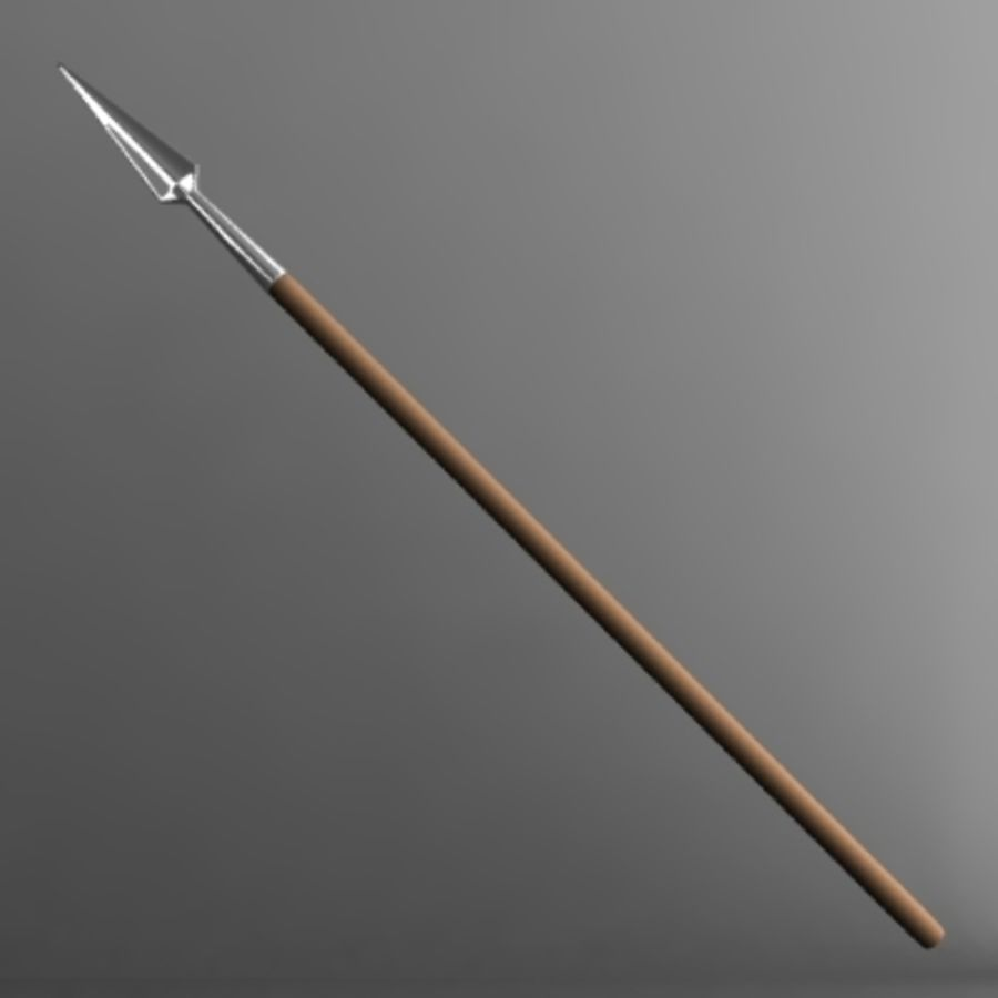 spear.3ds royalty-free 3d model - Preview no. 1