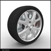 wheel04 3d model