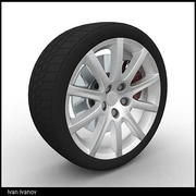 Wheel03 3d model