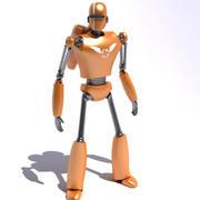 기계 인간 3d model
