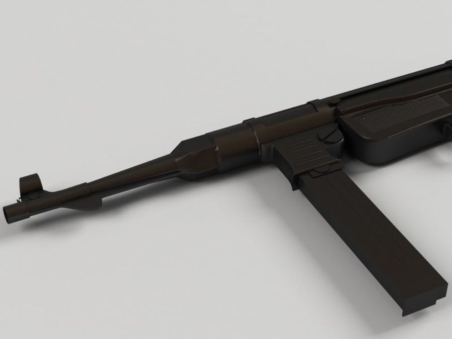 Mp 40 royalty-free 3d model - Preview no. 4