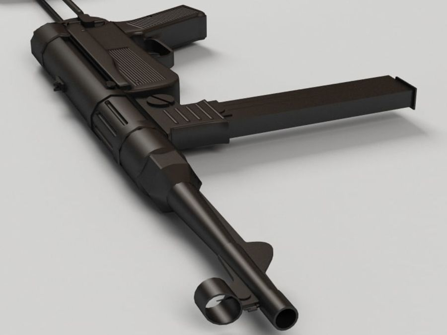 Mp 40 royalty-free 3d model - Preview no. 6