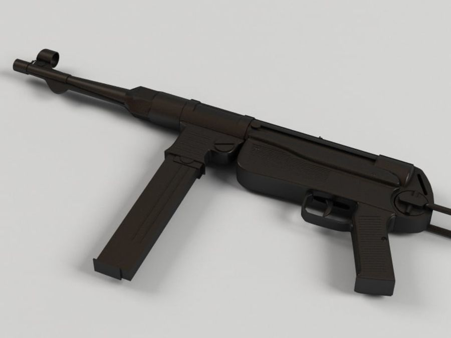 Mp 40 royalty-free 3d model - Preview no. 3