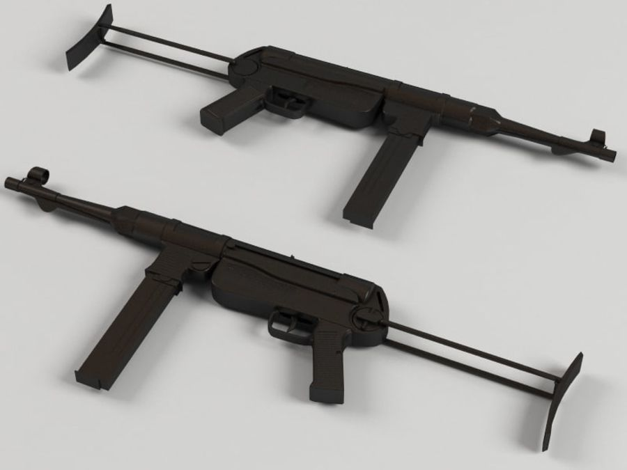 Mp 40 royalty-free 3d model - Preview no. 1