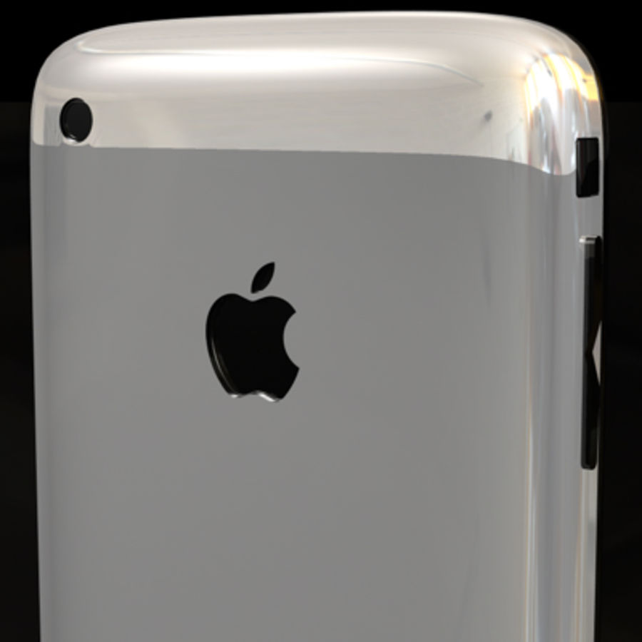 Apple iPhone royalty-free 3d model - Preview no. 7