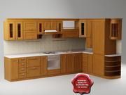 Kitchen Pavel 3d model