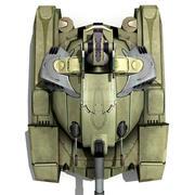 БАК 3d model
