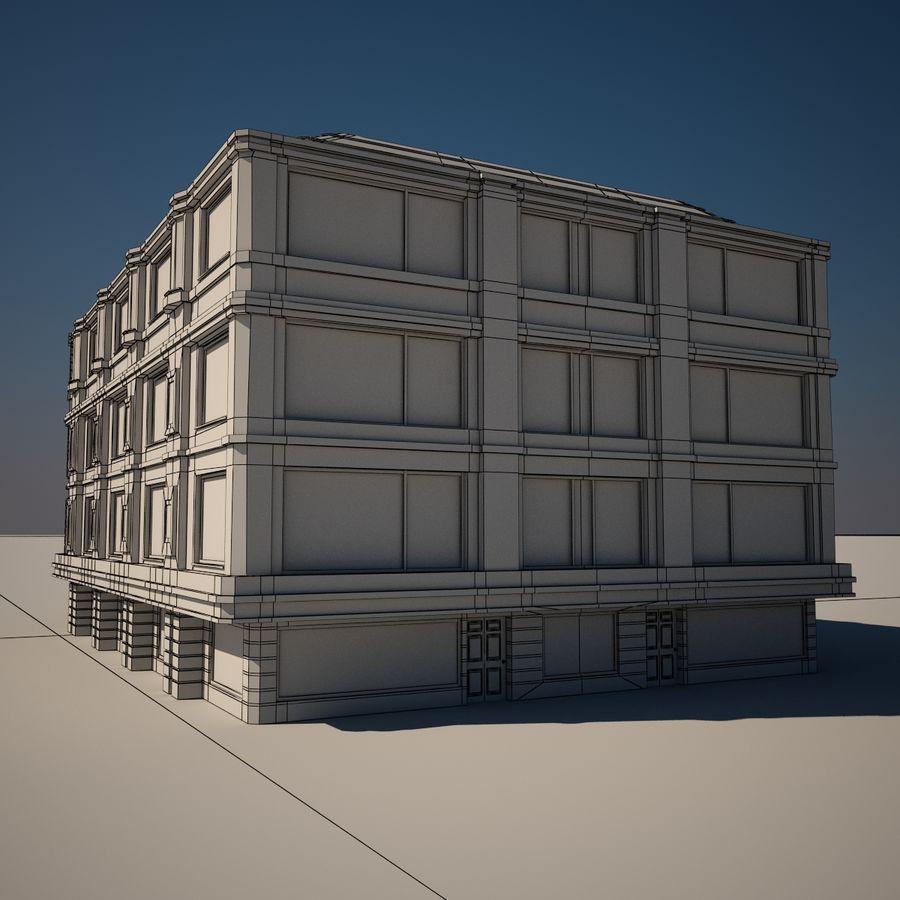 历史建筑 royalty-free 3d model - Preview no. 8