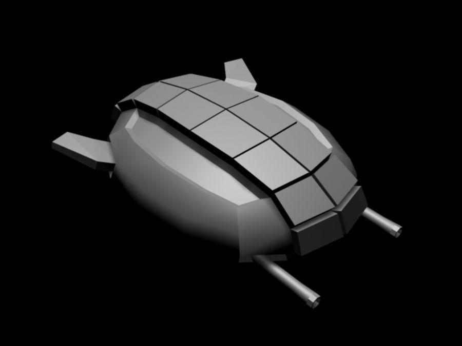 Raumfahrzeug royalty-free 3d model - Preview no. 4