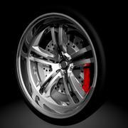 Ruedas Racing Style modelo 3d