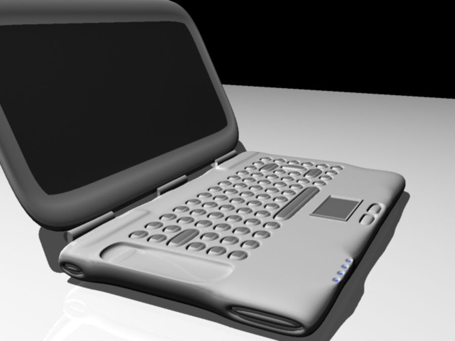 Notebook royalty-free 3d model - Preview no. 1