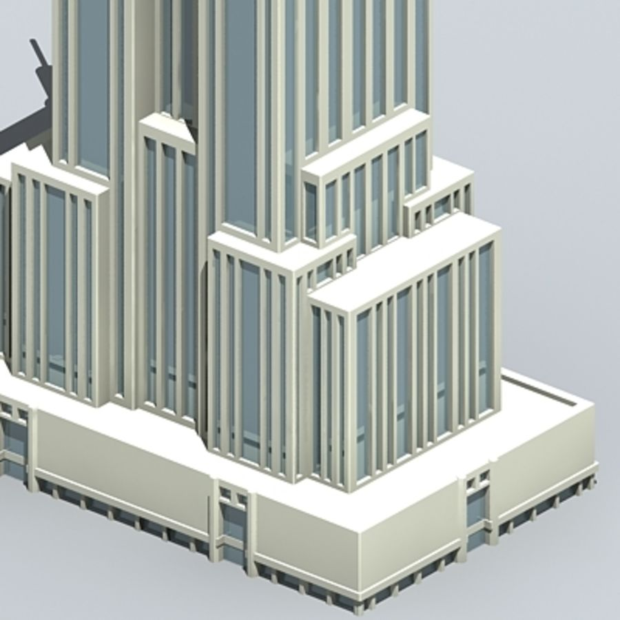 Empire state building.zip royalty-free 3d model - Preview no. 6