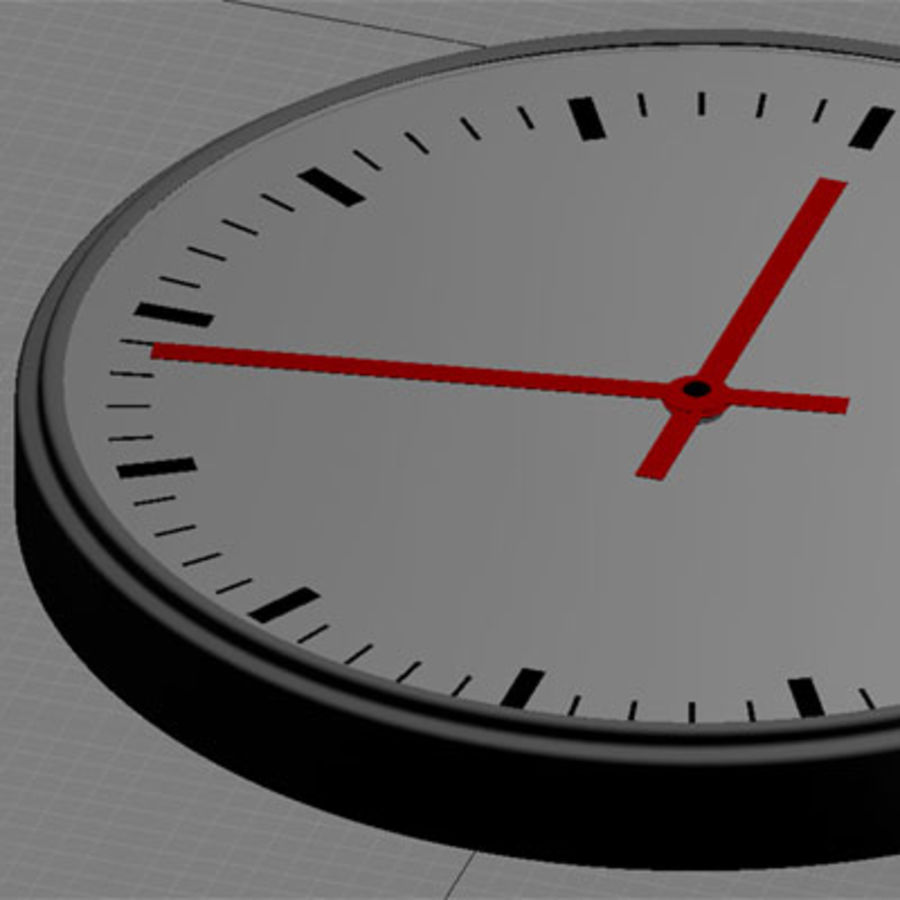 clock 05 royalty-free 3d model - Preview no. 3
