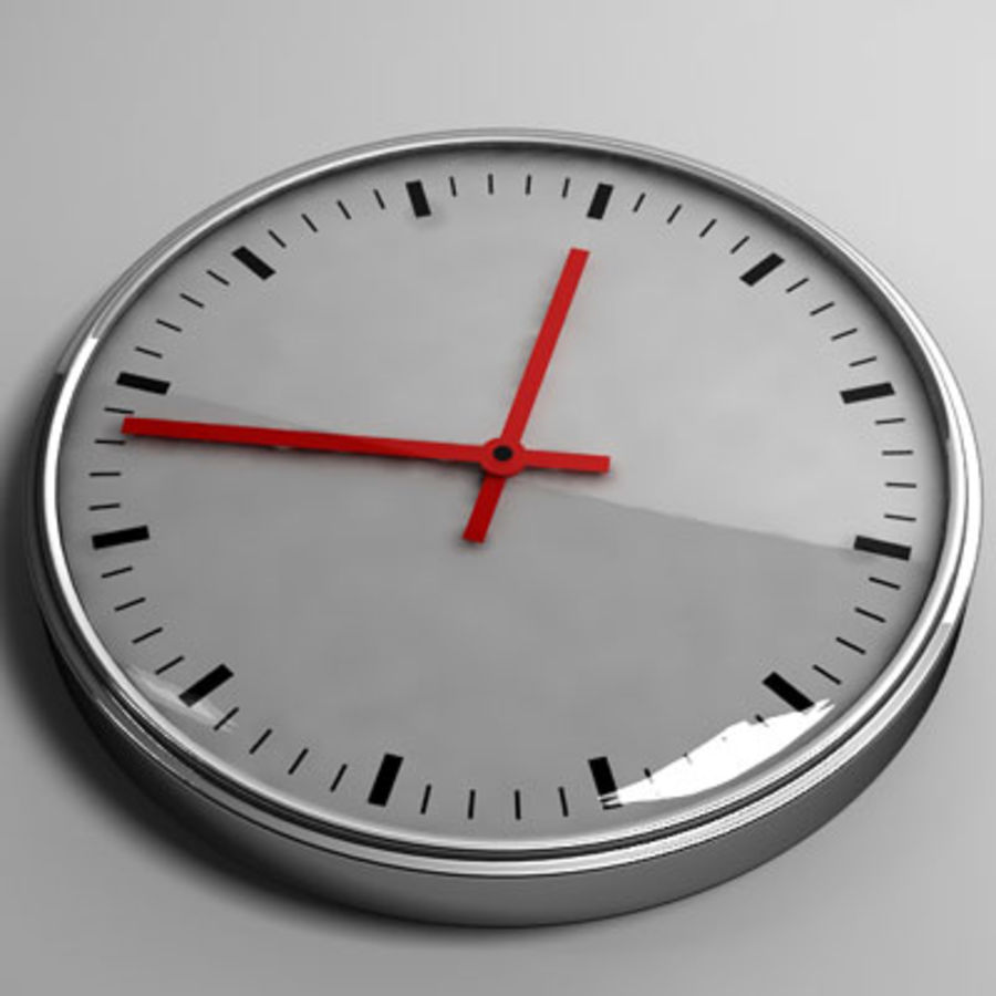 clock 05 royalty-free 3d model - Preview no. 1