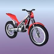 トライアルバイク 3d model