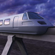 trailway 3d model