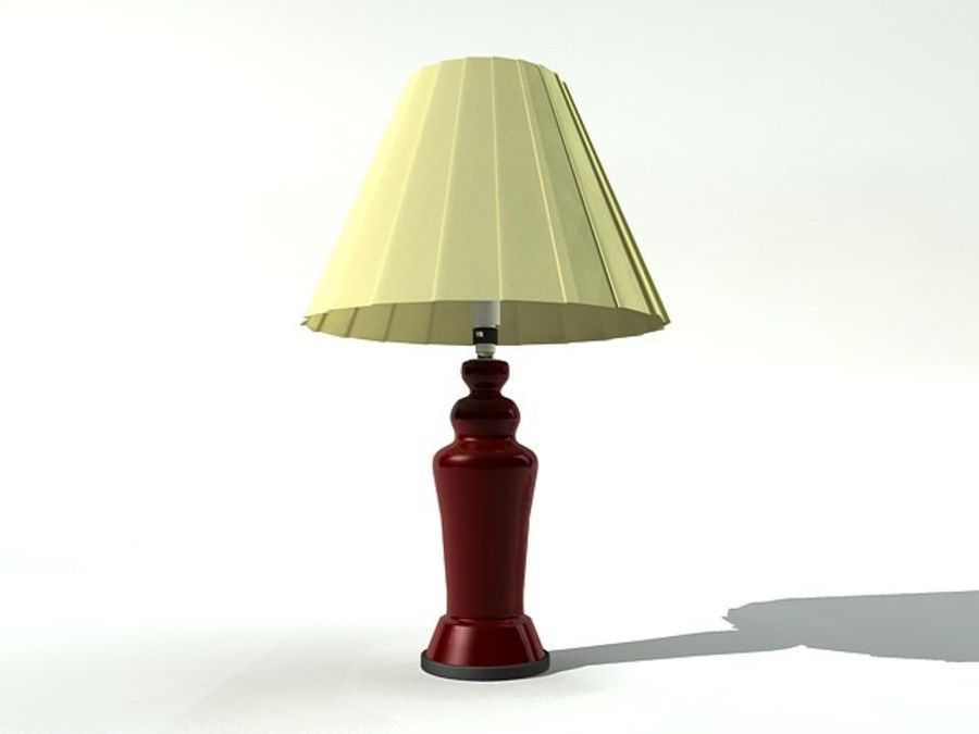 Table lamp royalty-free 3d model - Preview no. 1