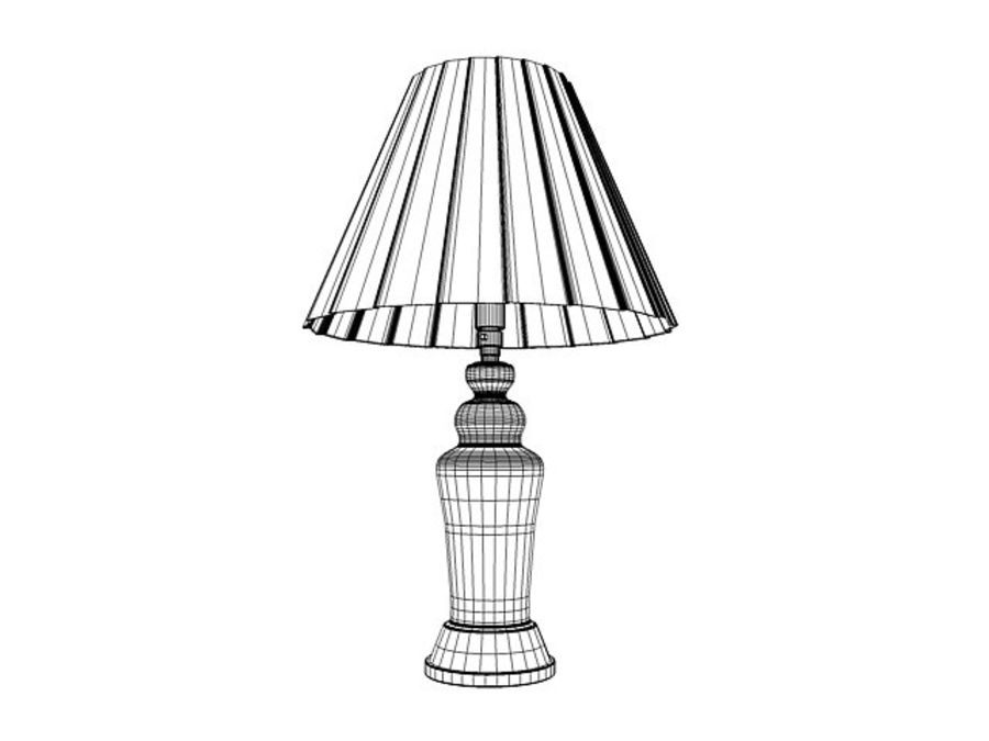 Table lamp royalty-free 3d model - Preview no. 3
