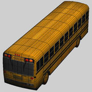 Low poly school bus.zip 3d model
