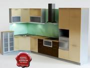 Kitchen Mota 3d model