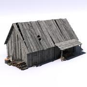 cottage4 3d model