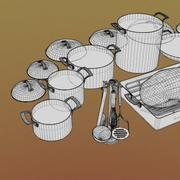 Clutter-Cookware Professional 001 3d model