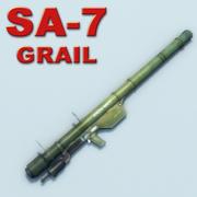SA-7_Grail_Multi 3d model