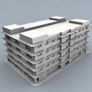 edificio 001 3d model