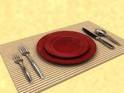 table setting.max 3d model