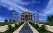 Taj Mahal max modelo 3d