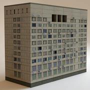 bâtiment à faible impact2 3d model