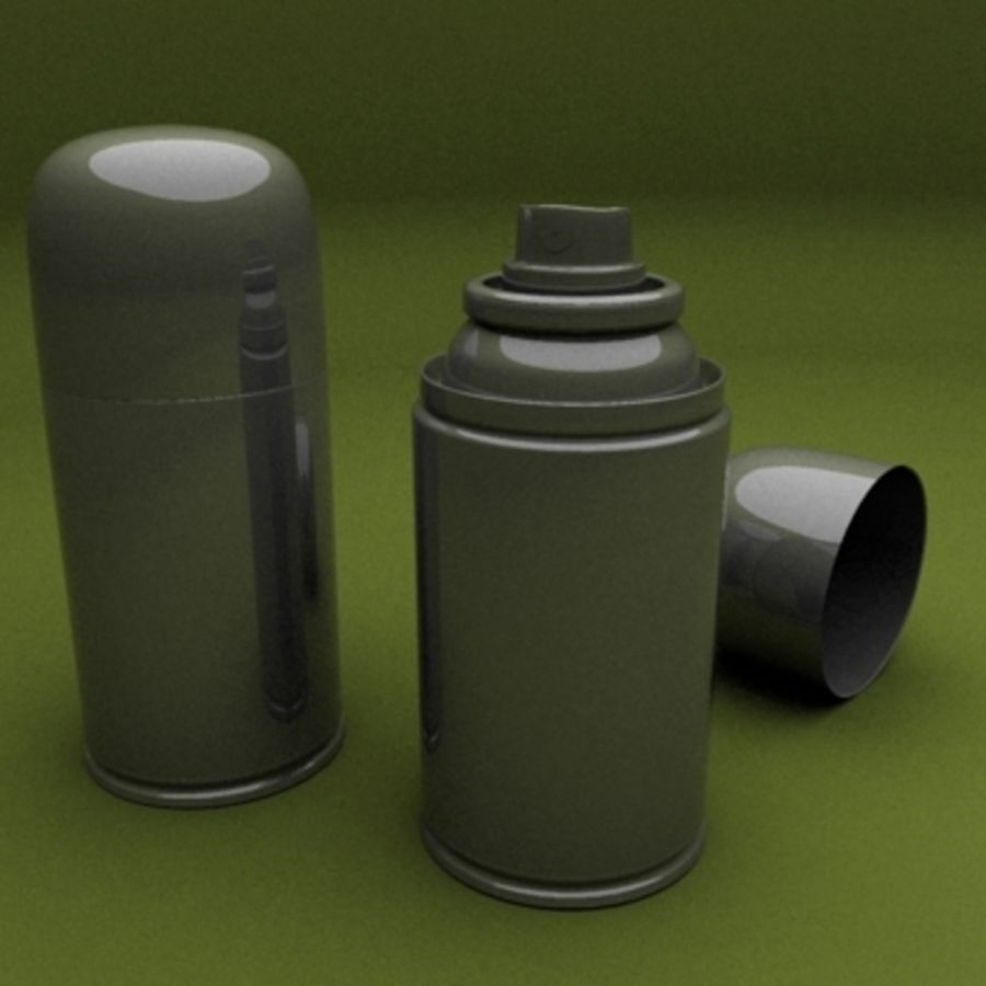 spray royalty-free 3d model - Preview no. 1