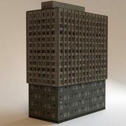 bâtiment à faible impact3 3d model