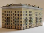 bâtiment à faible impact7 3d model