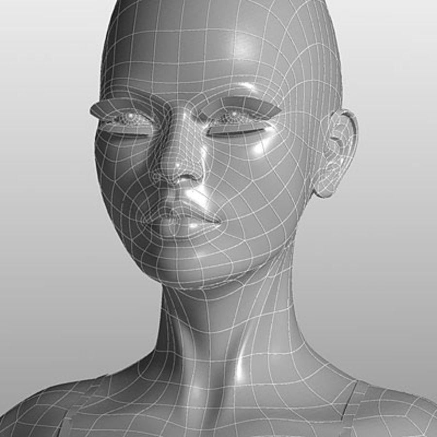 Mari (3ds) royalty-free 3d model - Preview no. 1