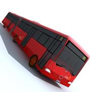 Low Poly Bus 07 3d model