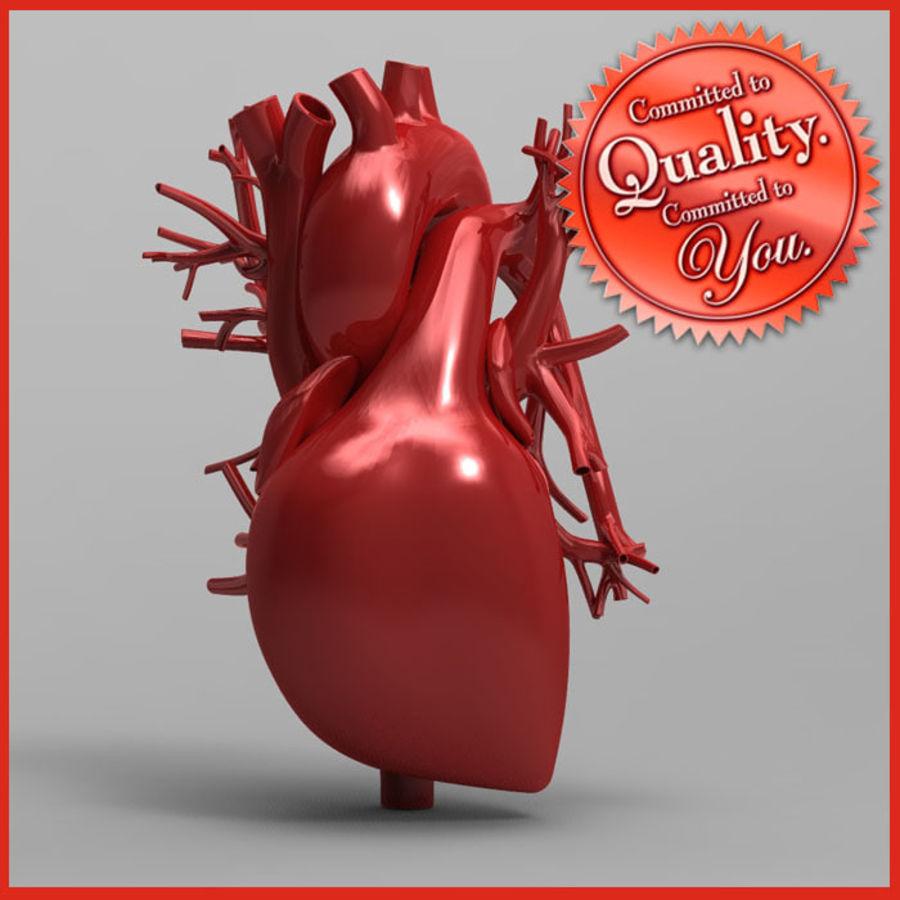 Human Heart 3D Model $35 -  obj  ma - Free3D