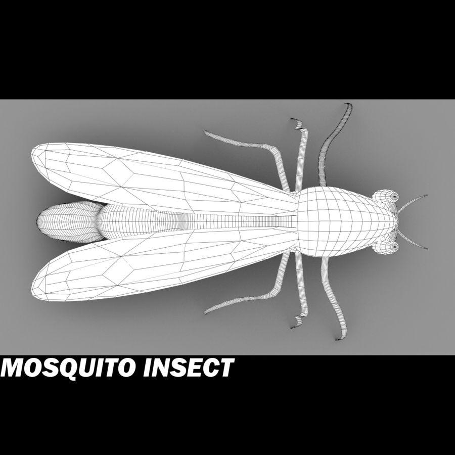 owad komara royalty-free 3d model - Preview no. 4