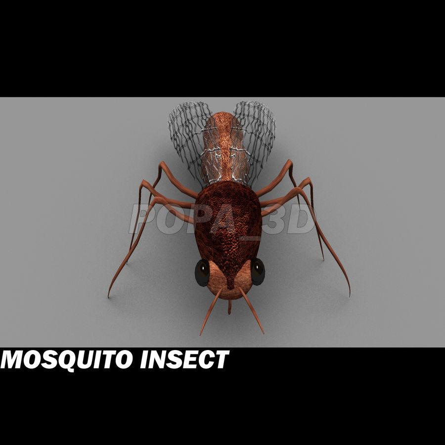 owad komara royalty-free 3d model - Preview no. 3