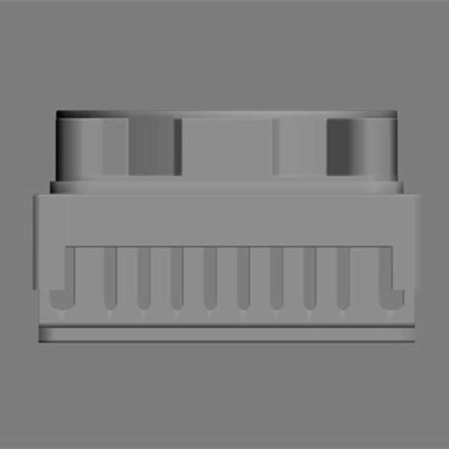 Cpu cooler for Max royalty-free 3d model - Preview no. 4