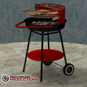 Grill / Barbecue 3d model