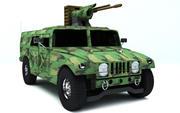 Hummer(Updated) 3d model