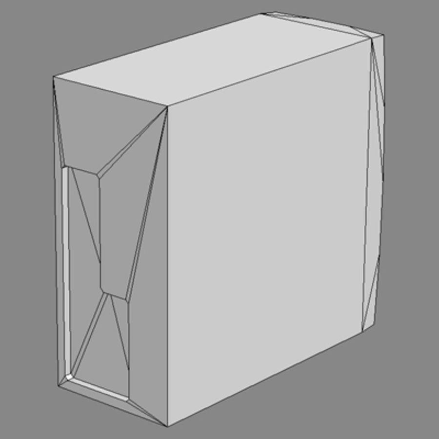 PC_desktop_lowpoly royalty-free 3d model - Preview no. 5