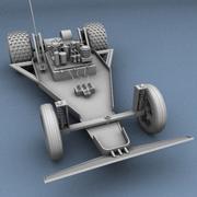 игрушечная машина 3d model