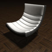 Fauteuil Lounge - Slide 7 3d model