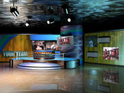 Virtual Television Set.zip 3d model
