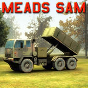 MEADS SAM Launcher 3d model