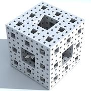 Menger sponge 3d model