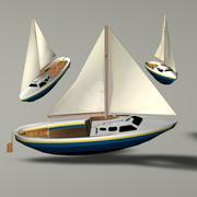 Sailboat ( Ship ) 3d model