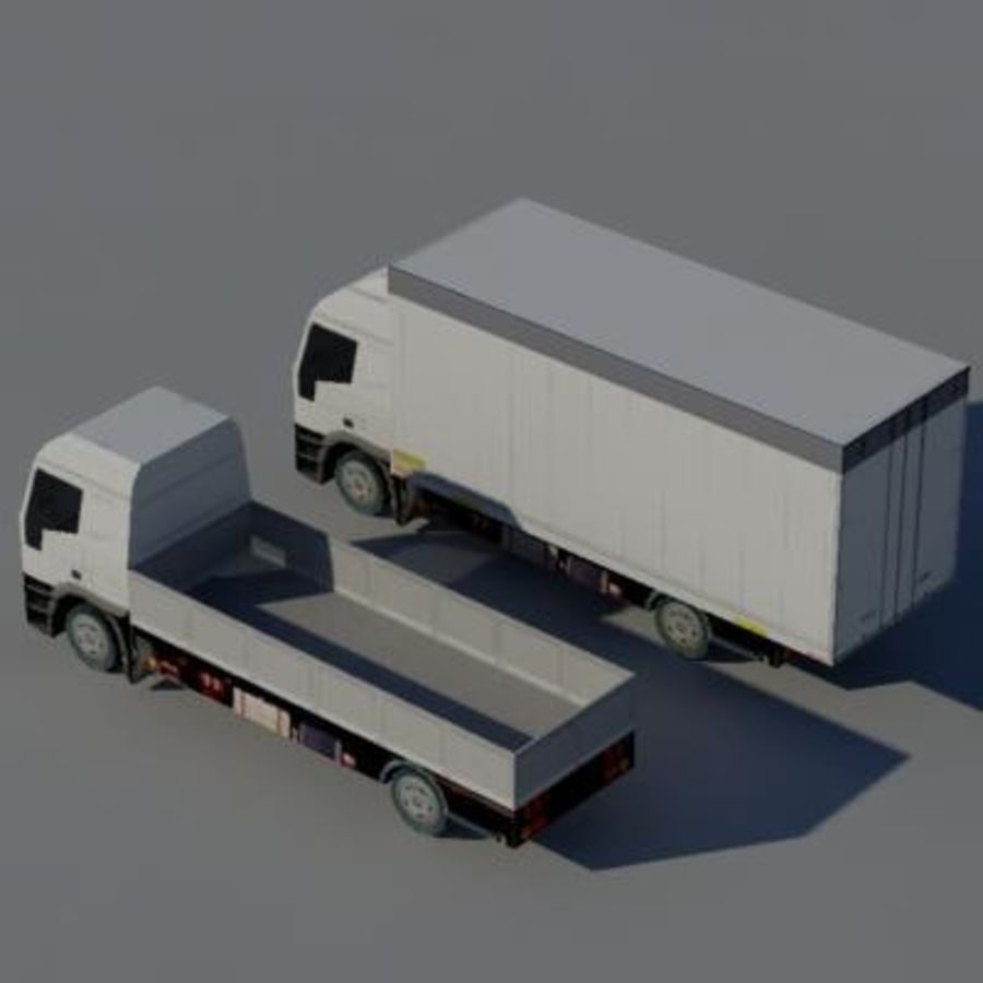 车辆卡车 royalty-free 3d model - Preview no. 3